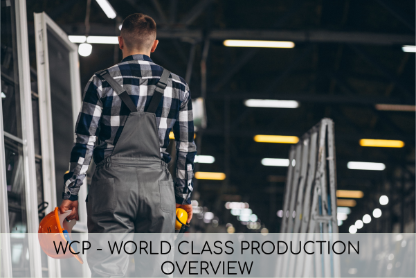 WCP - World class production - overview - corso di formazione